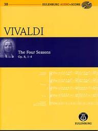 The Four Seasons : op. 8, 1-4 = Les quatre saisons. | Vivaldi, Antonio (1678-1741)
